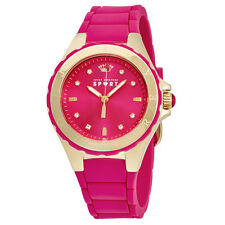 Juicy Couture Rio Pink Dial Pink Resin Ladies Watch 1901412
