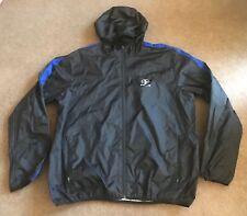 Men's Ralph Lauren RLX Black Full Zip Nylon Hoodie Jacket Size 2XL EUC
