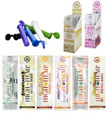 High Hemp Organic 5 Packs Variety Flavor (10 Wraps) Non-GMO Tobacco Free Vegan