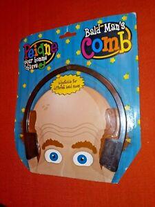 BALD MAN'S COMB Novelty Hair Joke Prank Gag Gift Funny