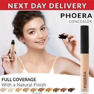 Phoera Foundation Concealer Makeup Full Coverage Matte Brighten Long Lasting UK