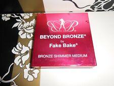 NEW FAKE BAKE BEYOND BRONZE MEDIUM SHIMMER BRONZER FULL SIZE 12G