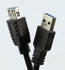 USB 3.0 Extension Cable FAST LONG Type A to A Male / Female Lead 5m