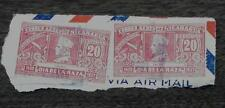 Nice Vintage Used Set of 2 Nicaragua 20 Dia de la Raza Stamps, GOOD COND