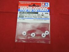 NIP TAMIYA HOP UP OPTIONS TRF DAMPER PISTON  3-hole 4 pc 53573 DAMPENER