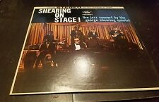 George Shearing - Shearing On Stage! Live Vinyl Record LP - Jazz - ST 1187