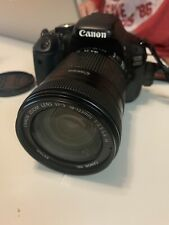 Canon EOS 600D 18.0 MP Digital SLR Camera - Black. With bag and memory card.