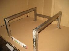 Erhöhung Untergestell für Waschmaschine Trockner usw Edelstahl ca 25 cm hoch 95A