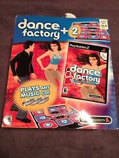 NIB Dance Factory Game and TWO (2) Dance Pads / Mats (Sony PlayStation 2, 2006)
