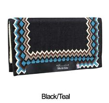 Professional's Choice Shilloh Black Teal Air Ride Western Saddle Pad Merino Wool