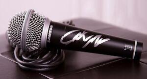 GFA Saturday Night Live SETH MEYERS Signed Microphone AD1 COA