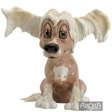 Chelsea Chinese Crested Dog - Pets with Personality Collectible Dog Figurine