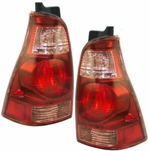FITS FOR 4RUNNER 2003 2004 2005 REAR TAIL LAMP RIGHT & LEFT PAIR SET