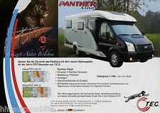 Prospetto Tec viaggio MOBIL 2010 Panther crosstec 4x4 CAMPER brochure CAMPER AUTO