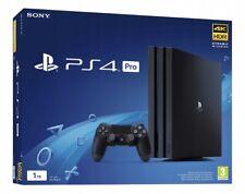 PS4 PRO 1TB 4K HDR JET BLACK - PLAYSTATION 4 PRO NERA - CUH-7216B - ITALIA