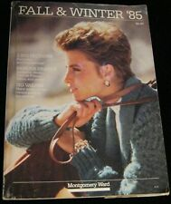 MONTGOMERY WARD VINTAGE FALL & WINTER 1985 CATALOG FASHIONS FURNISHING & MORE!