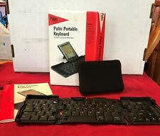 New listing Palm Portable Keyboard complete w/Case, Manual, and Original Box - Palm V +Bonus