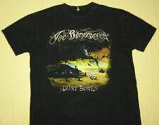 Joe Bonamassa Dust Bowl 2011 Concert Tour T-Shirt Black size X-Large