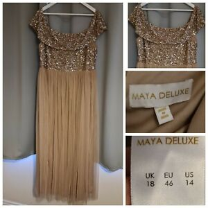 Maya bridesmaid dress from Asos size 18 in excellent condition