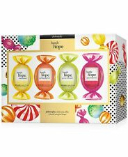 Hands of Hope by Philosophy Hand and Cuticle Cream 4 Piece Gift Set 1 OZ. NEW