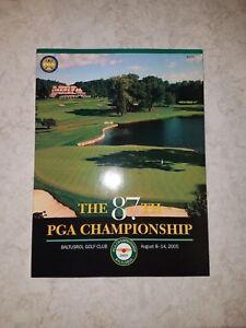 The 87th PGA Championship Program Guide Baltustol Golf Club August 8-14 2005