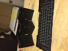 (2) Palm Portable Folding Keyboard Black