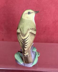 Royal Worcester Bird - Wood Warbler