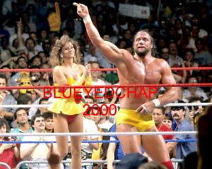 MISS ELIZABETH & RANDY SAVAGE WRESTLER 8 X 10 WRESTLING PHOTO WWF WCW