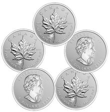 2016 Wolf Privy Silver Canadian Maple Leaf Reverse Proof Coin .9999 (BU Lot 5)