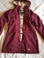 Ladies Trespass coat purple waterproof windproof breathable worn once!