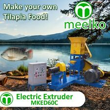 ELECTRIC EXTRUDER TO MAKE YOUR OWN TILAPIA FISH FOOD - MKED060C (FREE SHIPPING)