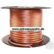 Lautsprecher-Kabel-Spule - 10 m - 2x 2,50 mm² LS Kabel für CAR & Homehifi