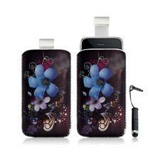 Housse coque étui pochette pour Apple Ipod Touch 1G/2G/3G/4G avec motif + stylet