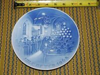 "B & G / Bing and Grondahl ~ 1968 Annual Plate ""Christmas In Church"" ~ NICE"