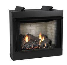 "Premium 36"" Vent-Free See Thru Mv Fireplace - Liquid Propane"