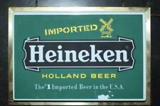 Heineken Holland Beer the #1 Imported Beer in the U.S.A, Light Sign Works Great