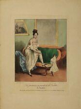 Lithographie originale 19ème Charles Philipon créateur du journal La Caricature