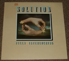 SOLUTION fully interlocking 1977 UK ROCKET STEREO LP DUTCH PROG