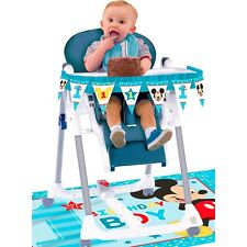 Mickey Mouse Fun To Be One 1st First Birthday High Chair Decoration Kit