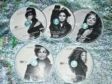 Pin & FREE Janet Jackson Music Video Anthology 5 DVD Set 1986-2018 OVER 100 Vids