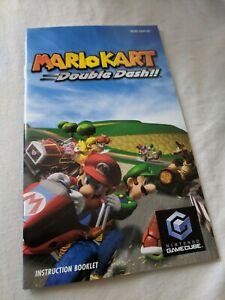 Mario Kart Double Dash!! GameCube Original Manual And Nintendo VIP Card GC