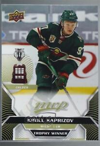 2020 Upper Deck MVP Predictor Winners Achievements Kirill Kaprizov #PW-CA Rookie
