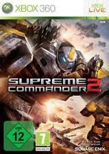 XBOX 360 Supreme Commander 2 in tempo reale strategia NUOVISSIMA
