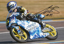 Jules Danilo Hand Signed Ambrogio Racing Mahindra 12x8 Photo 2014 Moto3 1.