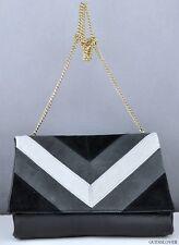 New Trend Limited GuEsS Handbag Ladies Nakieta Shoulder Bag Black Multi BNWT