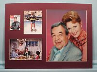 """Henry Winkler as Fonzie - """"Happy Days"""" signed Marion Ross as Marion Cunningham"""