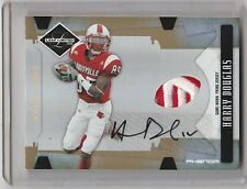 2008 LEAF LIMITED HARRY DOUGLAS RC AUTO PATCH 2/10 (REDEMPTION) RARE