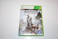 XBOX 360 ASSASSIN'S CREED III GAME STOP EDITION 2012