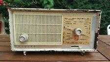 Radio TSF Philips Poste à Lampes Bakelite brun Type B1F20U