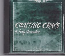 Counting Crows-A Long December promo cd single